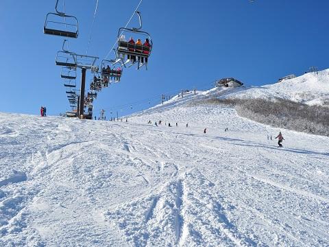 白馬八方尾根スキー場1