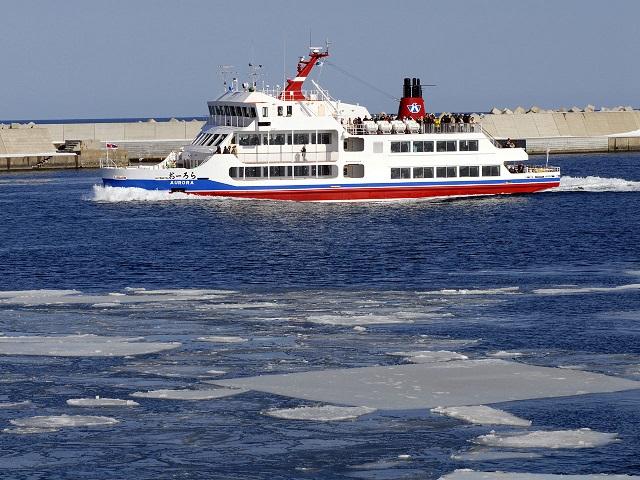 Floating Ice Sightseeing Ship