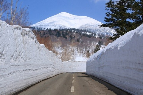 八甲田山冬