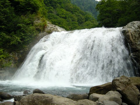 天人峡・敷島の滝