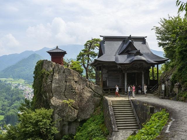 Risshaku-ji Temple(Yama-dera )