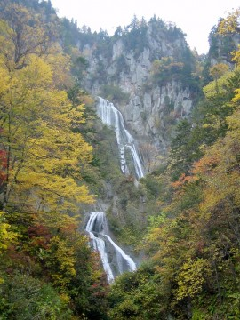 天人峡・羽衣の滝