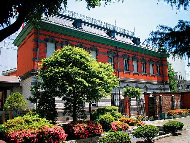 Red brick local museum