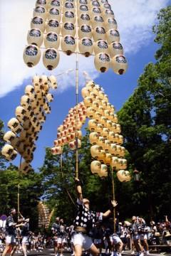 秋田竿燈祭り4
