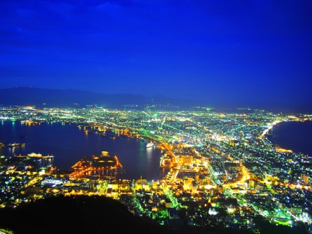 Night Views from Mt. Hakodate