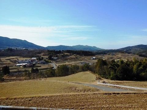 岩村農村風景