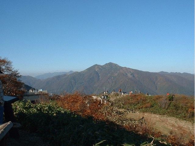 Tenjindaira of Mt.Tanigawadake