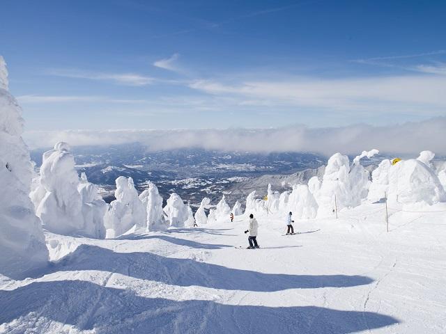 Zao Onsen Ski Resort