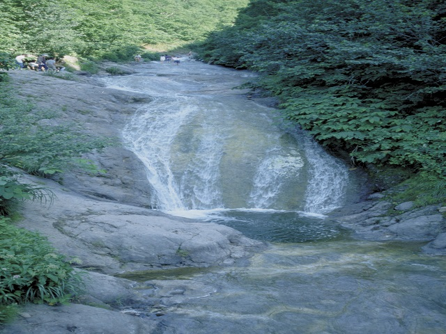 Kamuiwakka Hot Water Fall