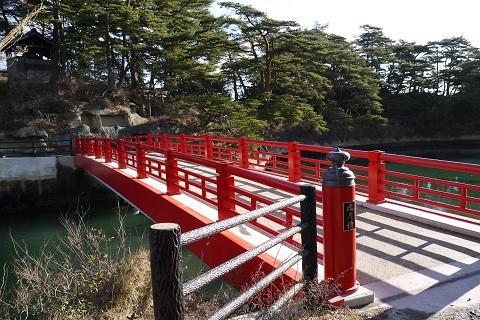 雄島渡月橋