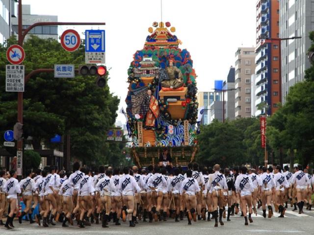 Gion Yamakasa Festival