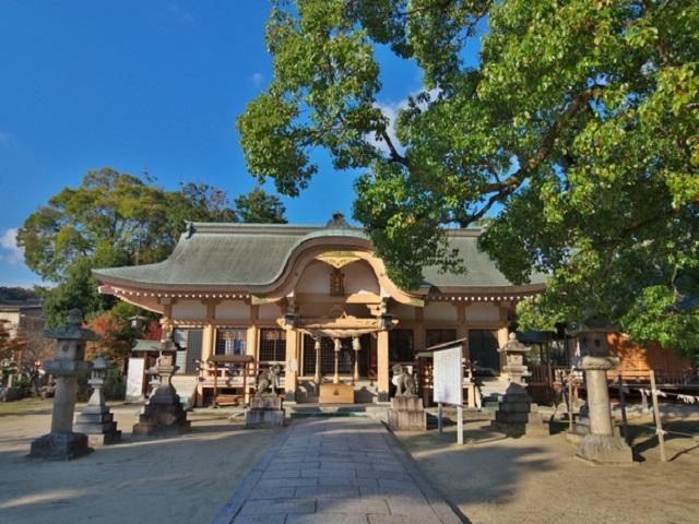 Cityscape of Tatsuta