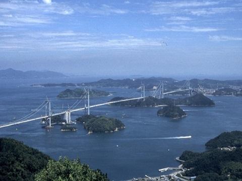 しまなみ海道来島大橋