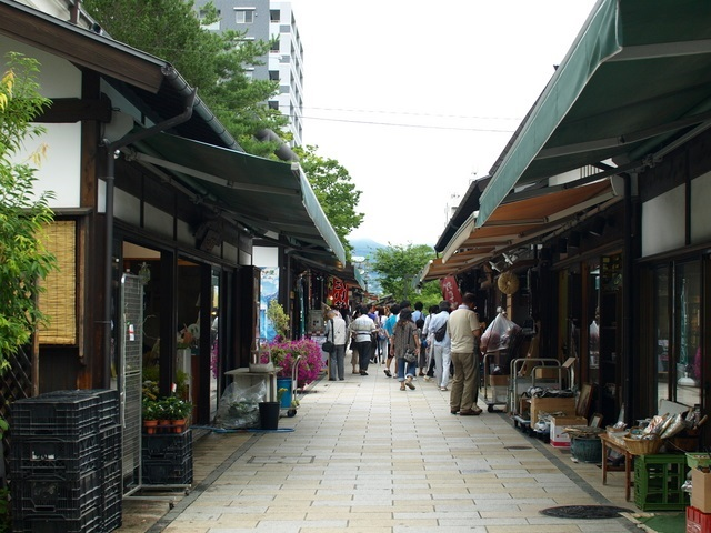 Nakamachi ・Nawate Streets